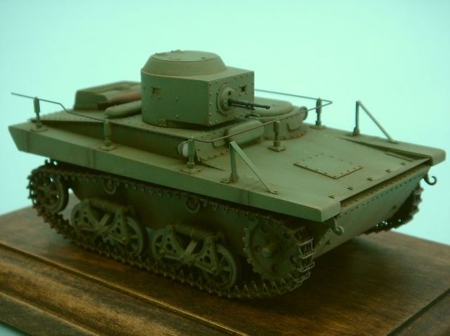T-37 A 軽戦車②
