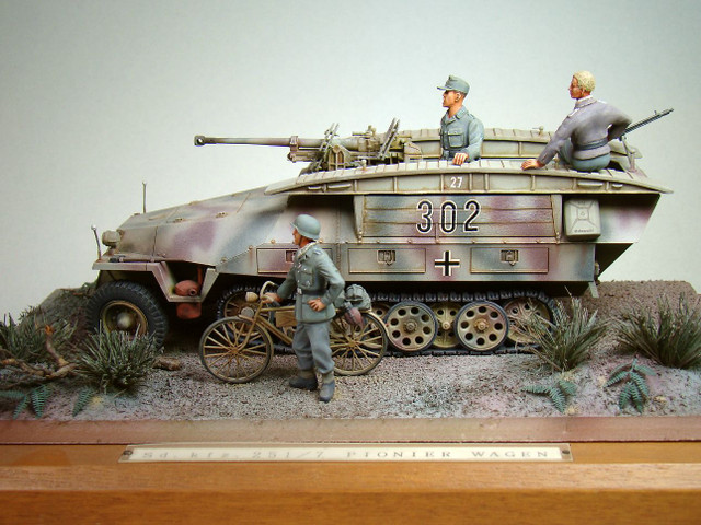 Sd.Kfz. 251/7型 装甲工兵車①