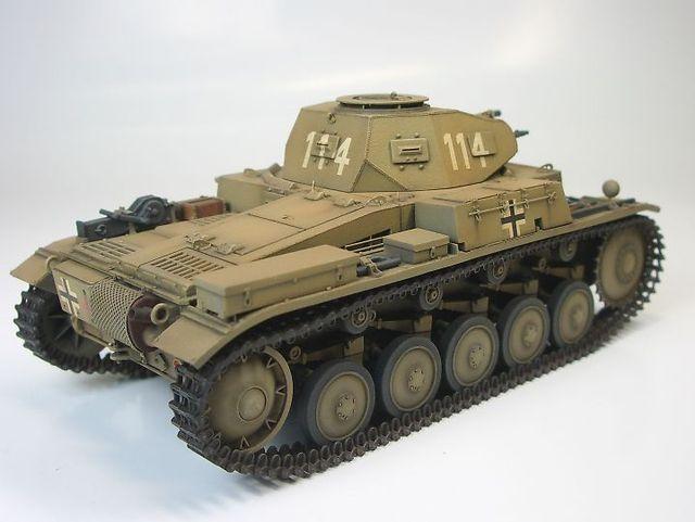 Ⅱ号戦車 F型  ③