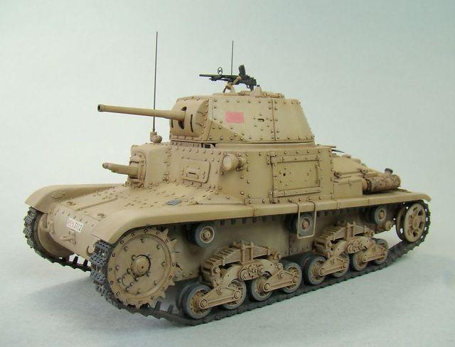CARRO ARMATO M14/41①