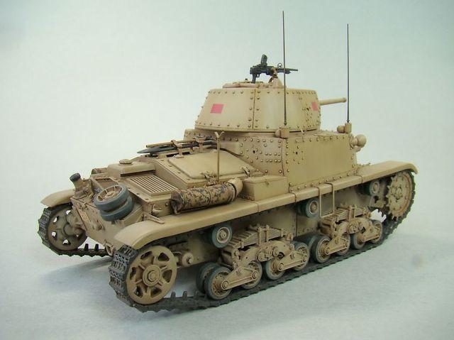 CARRO ARMATO M14/41⑤