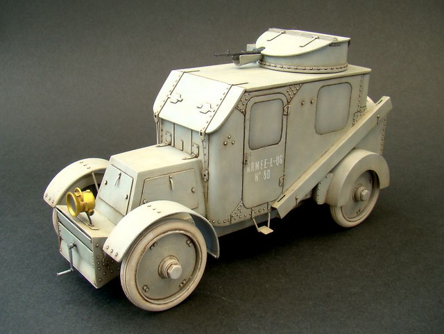 CGV model 1906 armored car①
