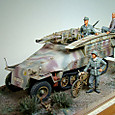 Sd.Kfz. 251/7型 装甲工兵車②